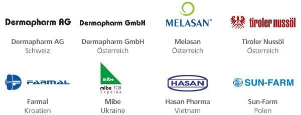Представительства компании Dermapharm AG в Украине